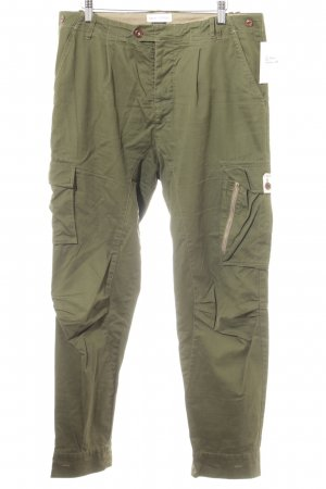 Marc O'Polo Pantalone cargo cachi-marrone stile atletico
