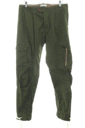 Marc O'Polo Pantalon cargo kaki style décontracté