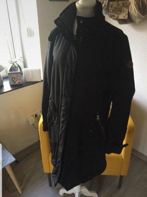 Marc O'Polo Quilted Coat dark grey-dark blue