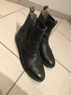Marc O'Polo Botines Chelsea gris antracita-gris oscuro
