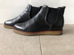Marc O'Polo Slip-on Booties black leather