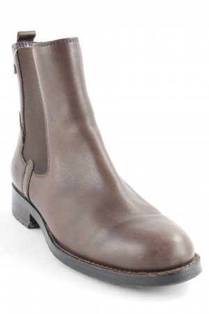 Marc O'Polo Chelsea Boots braun Casual-Look