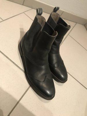 Marc O'Polo Stivale Chelsea antracite-grigio scuro