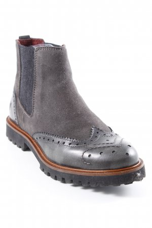 Marc O'Polo Chelsea Boots taupe Casual-Look