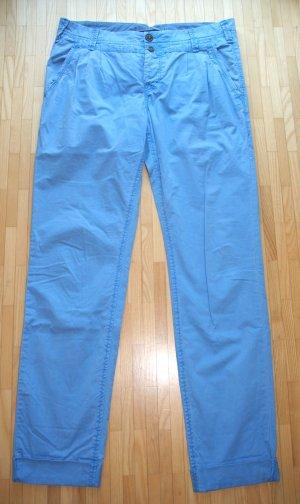 Marc O'Polo Pantalone chino blu neon Cotone