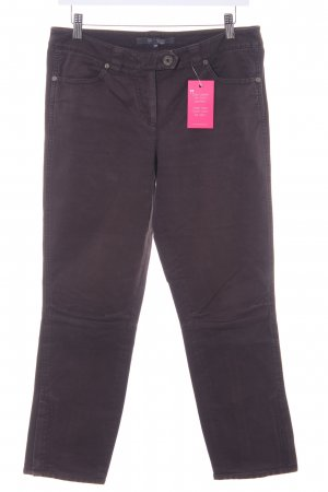 Marc O'Polo Chino donkerbruin casual uitstraling