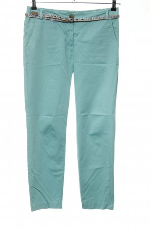 Marc O'Polo Pantalone chino turchese stile casual