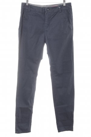 Marc O'Polo Chino leigrijs casual uitstraling