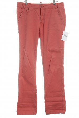 Marc O'Polo Chinohose hellrot Casual-Look