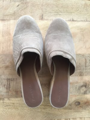 Campus by Marc O'Polo Mules beige leather