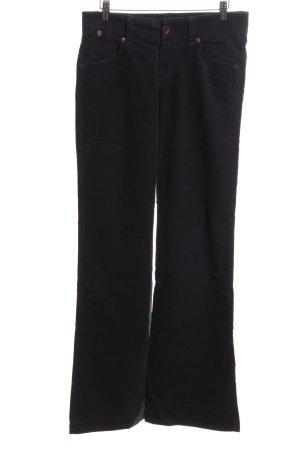 Marc O'Polo Pantalon en velours côtelé noir style décontracté