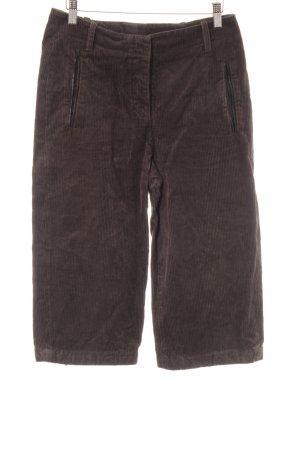 Marc O'Polo Pantalon en velours côtelé gris brun style décontracté
