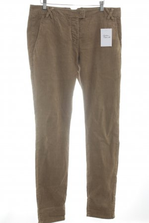 Marc O'Polo Corduroy broek lichtbruin casual uitstraling