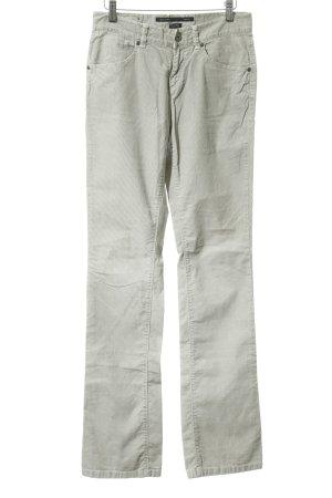 Marc O'Polo Corduroy Trousers light grey-oatmeal casual look
