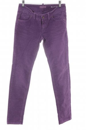 Marc O'Polo Cordhose lila Casual-Look