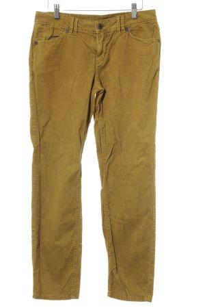 Marc O'Polo Pantalone di velluto a coste sabbia-giallo scuro stile casual