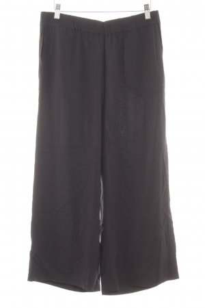 Marc O'Polo Culottes zwart casual uitstraling