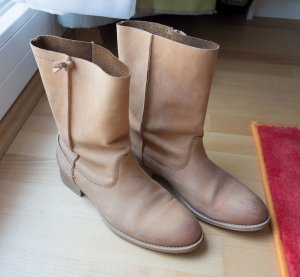Marc O'Polo Chelsea Boots light brown leather