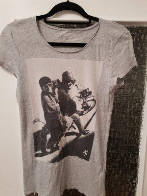 Marc O'Polo Camiseta estampada gris claro Algodón