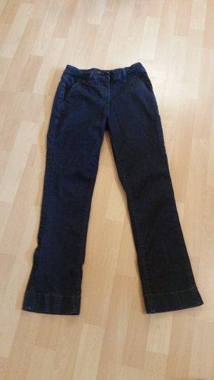 Marc O'Polo Drainpipe Trousers dark blue