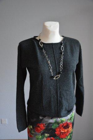 Marc O'Polo Jersey de lana gris antracita Lana