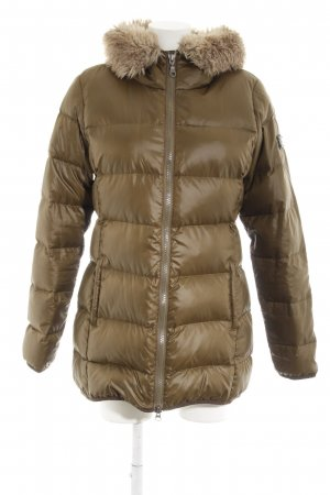 Marc O'Polo Down Coat khaki quilting pattern casual look