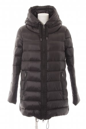 Marc O'Polo Down Coat black quilting pattern casual look
