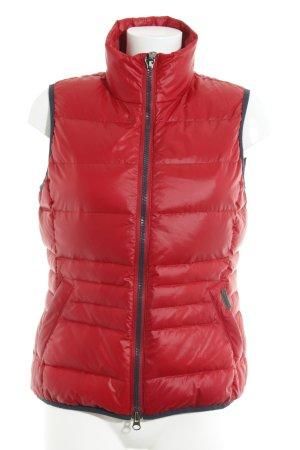 Marc O'Polo Daunenweste rot-dunkelblau sportlicher Stil