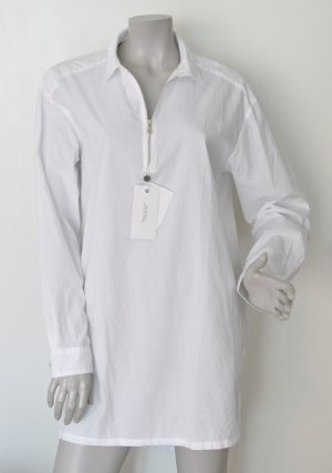 Marc O'Polo Blouse longue blanc coton