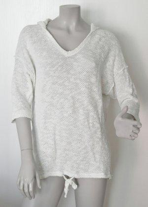 Marc O'Polo Denim Pullover Kapuze 643416954207 Baumwoll-Mix off-white weiß Gr. M