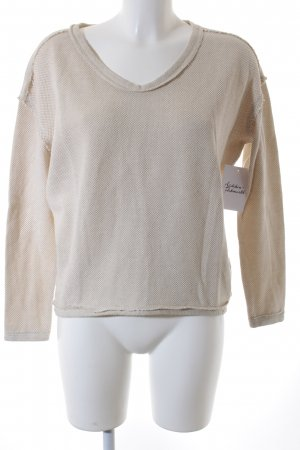 Marc O'Polo DENIM Sweatshirt hellbeige Casual-Look