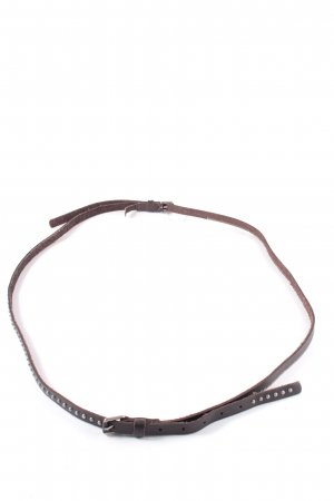 Marc O'Polo Double Belt dark brown casual look