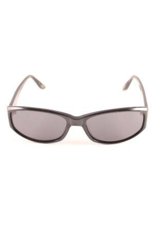 Marc O'Polo eckige Sonnenbrille schwarz klassischer Stil