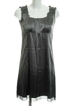 Marc O'Polo Empire Dress dark grey elegant