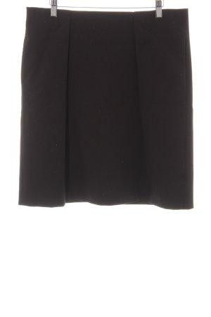 Marc O'Polo Jupe à plis noir style décontracté