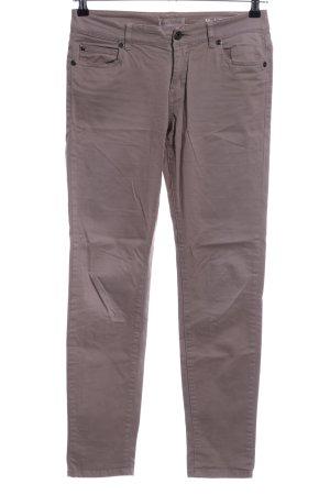 Marc O'Polo Pantalon cinq poches gris clair style décontracté