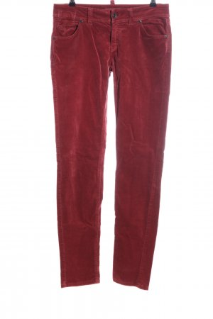 Marc O'Polo Five-Pocket Trousers red