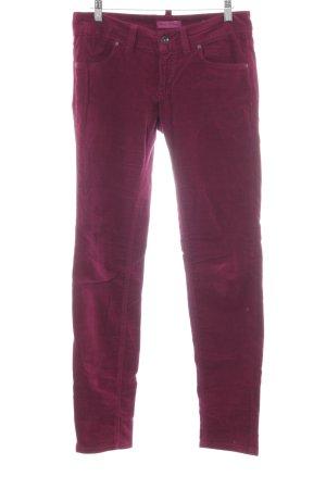 Marc O'Polo Five-Pocket-Hose purpur klassischer Stil