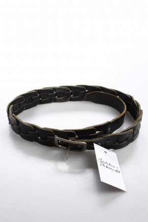 Marc O'Polo Braided Belt black brown casual look