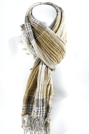 Marc O'Polo Sjaal met franjes veelkleurig casual uitstraling