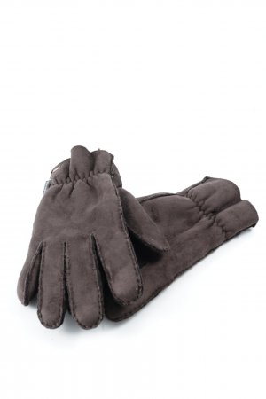 Marc O'Polo Padded Gloves dark brown casual look