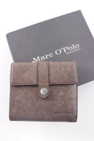 Marc O'Polo Geldbörse graubraun Casual-Look