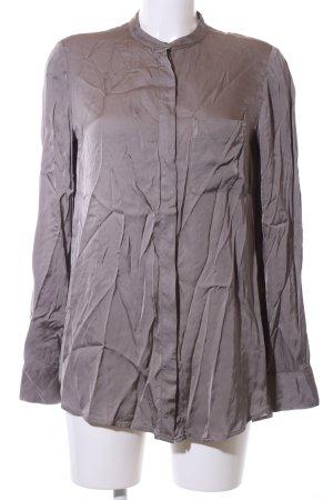 Marc O'Polo Glanzende blouse lila casual uitstraling