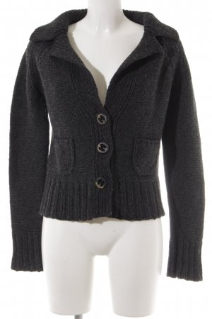 Marc O'Polo Coarse Knitted Jacket anthracite