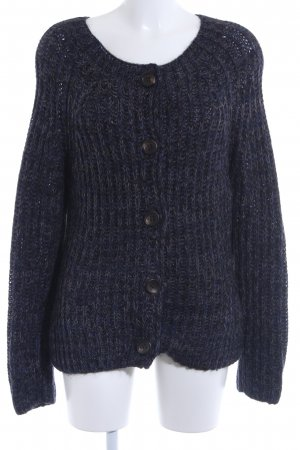 Marc O'Polo Coarse Knitted Jacket dark blue casual look