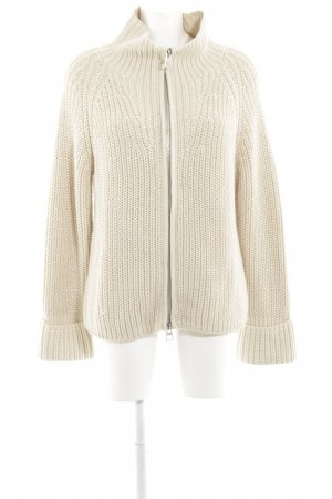 Marc O'Polo Coarse Knitted Jacket cream casual look