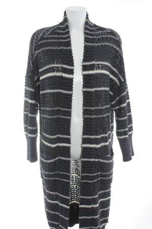 Marc O'Polo Veste tricotée en grosses mailles motif rayé style décontracté