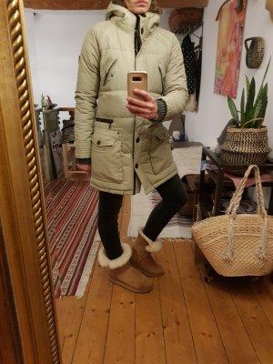Marc O'Polo Parka gris clair-beige clair