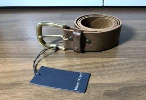Marc O'Polo Leather Belt beige