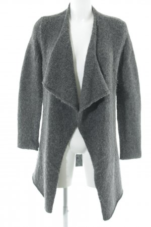 Marc O'Polo Cardigan all'uncinetto grigio scuro Lana